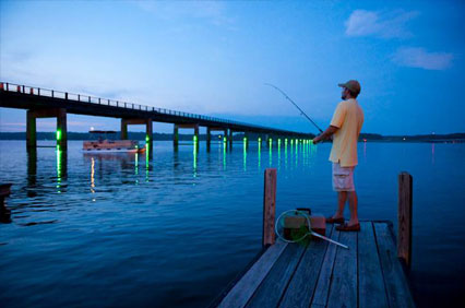 The fisherman travel guide for Kerr lake fishing hot spots
